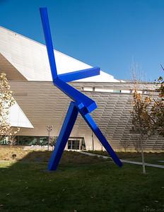 Art outside the Denver Art Museum, Denver, Colorado.