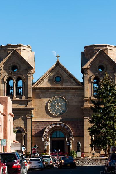 Cathedral Basilica of St Francis of Assisi, Santa Fe, New Mexico.