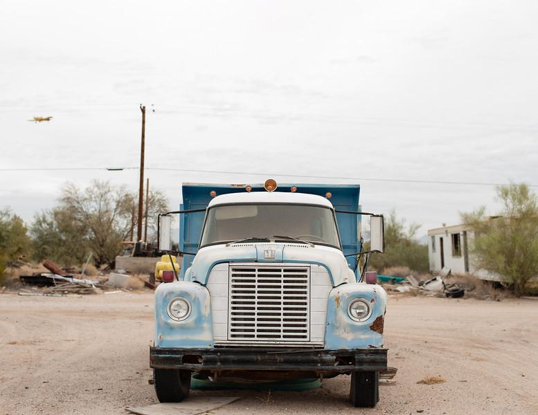 Old truck, Gila Bend, AZ