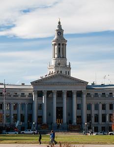Denver City and County building, Denver, Colorado.