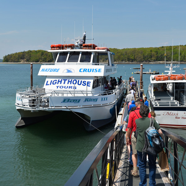 Returning to the Veendam after our day in Bar Harbor