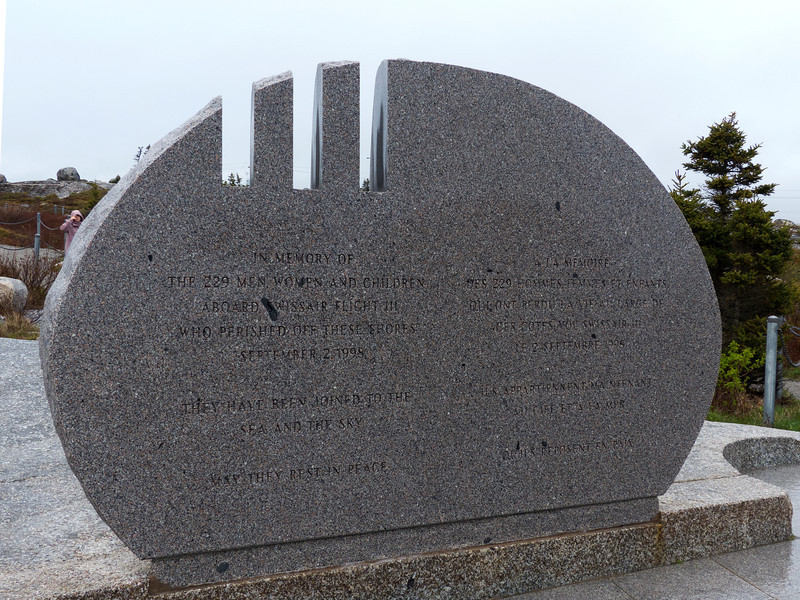 SwissAir Flight 111 Memorial
