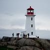 Peggy's Cove on a stormy & windy day