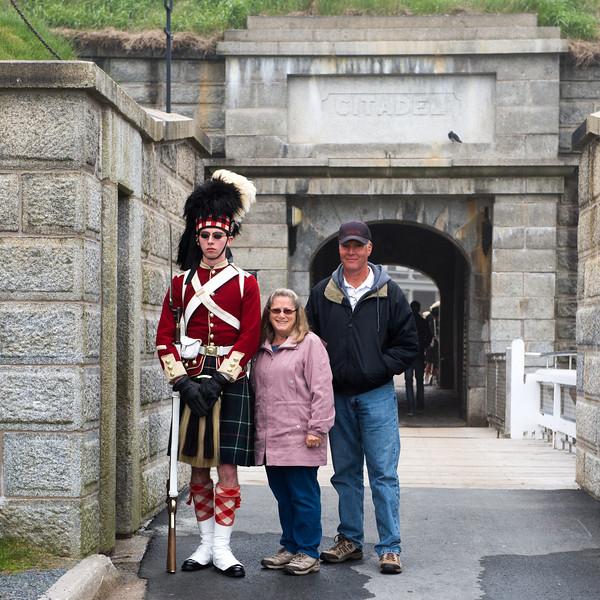 Citadel Fort entrance