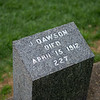 Jack Dawson gravesite - Character's name in the Titanic movie