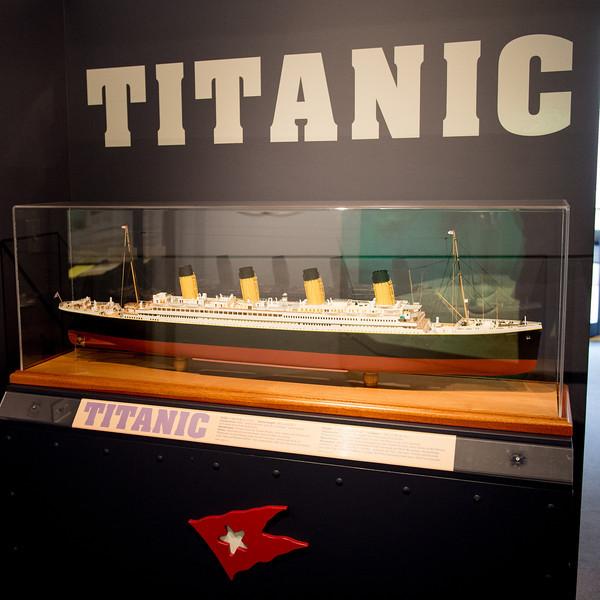 Titanic exhibit