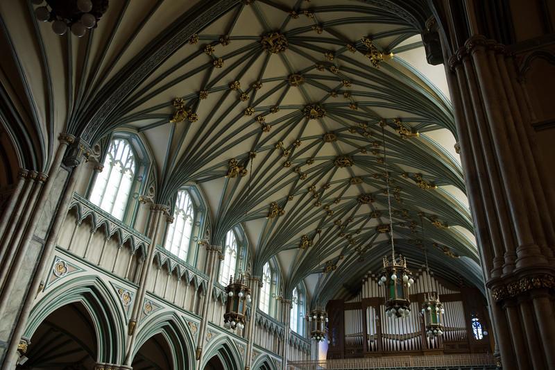 Interior of St. Dunstan's Basilica