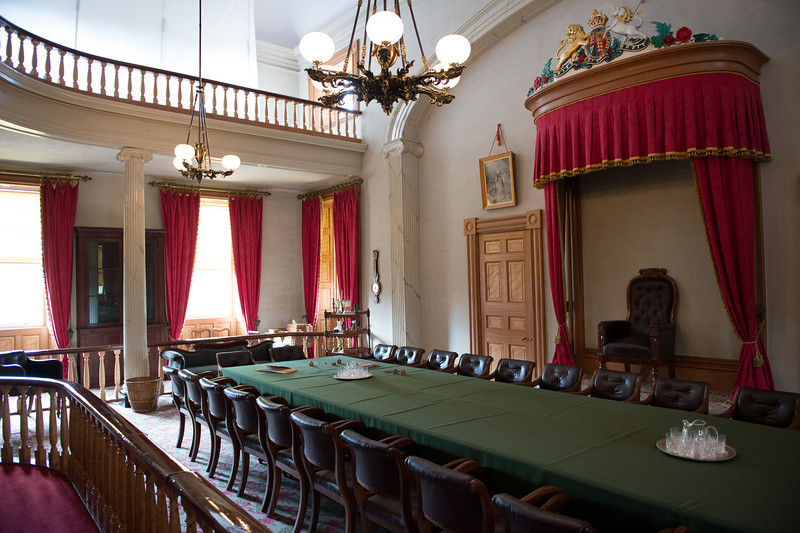 Province House is still used today for the Legislative Assembly
