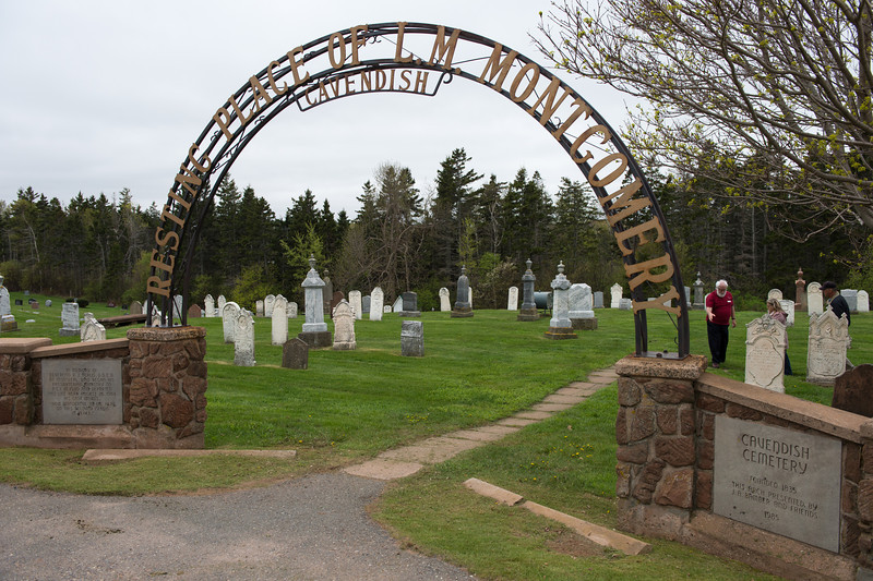 Cavendish Cemetery - Burial place of Lucy Maud Montgomery