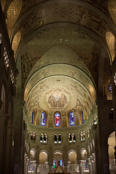 Interior of Sainte Anne de Beaupre Basilica