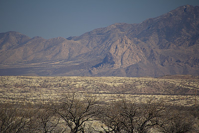 Elephant Rock, as seen from the Arivaca area.