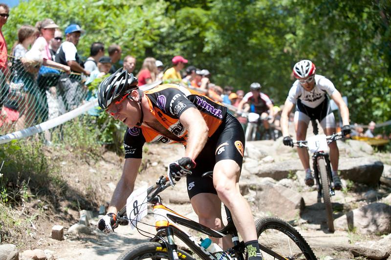 Kris Sneddon (BC) KONA <br /> <br />                                                                                                                                                                          Peter Glassford (ON) Trek Canada Mountain Bike Team