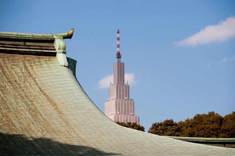 Meiji jingu, Harajuku Tokyo.