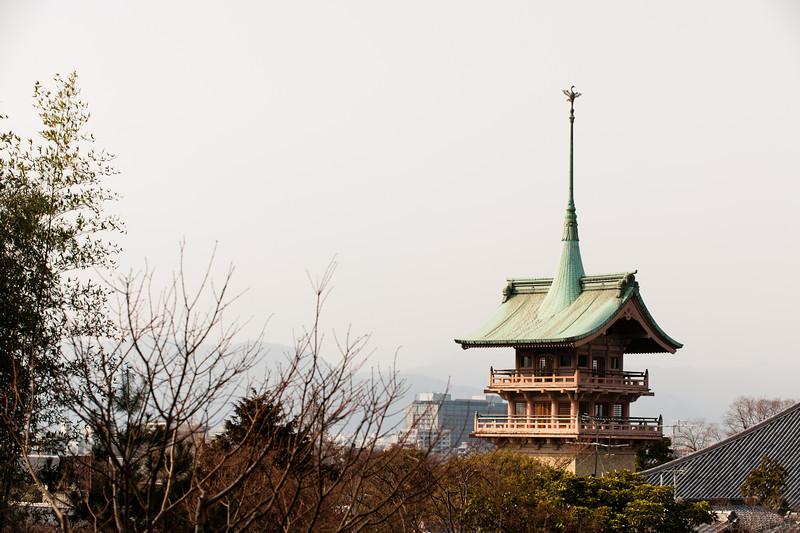 View from Kodai-ji, Kyoto.
