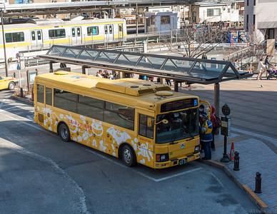 The Ghibli Museum bus, Mitaka.