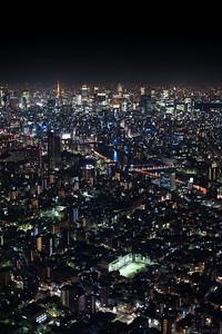 View from Tokyo Skytree, Sumida Tokyo.