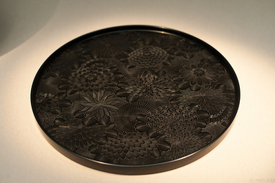 Laquer tray at the National Museum of Modern Art, Tokyo.