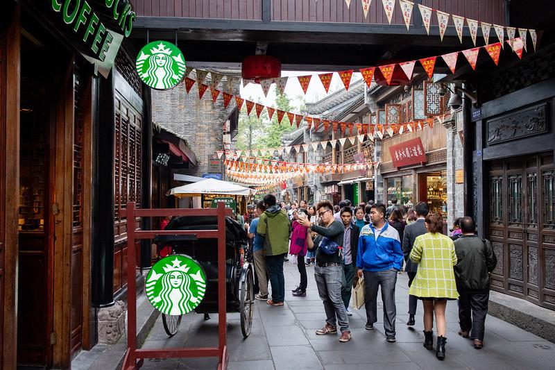 Starbucks is everywhere!