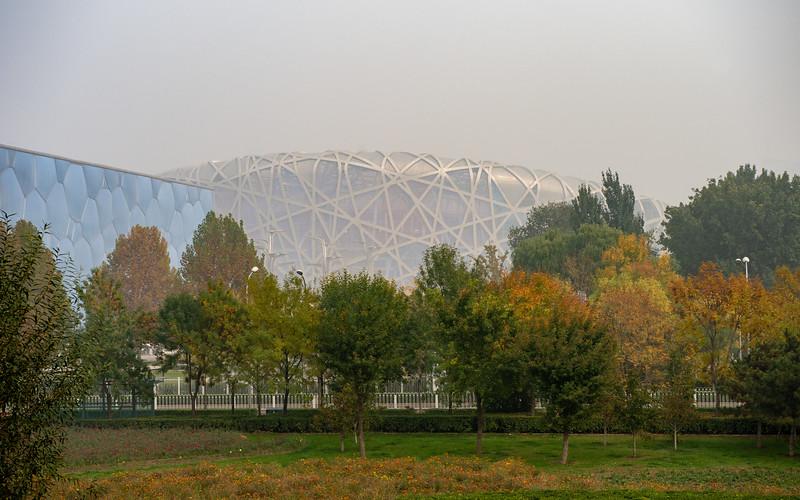 Beijing National Stadium - aka 'Bird's Nest'