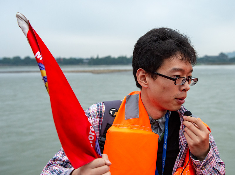 Our Mt. Emei guide