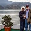 Marcia & Steve on deck