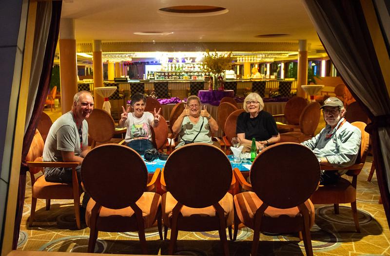 Bob, Mercedes, Joy, Marcia & Steve