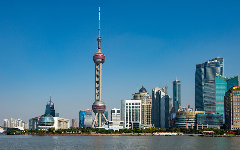 Shanghai's waterfront