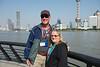 Bob & Joy on Shanghai waterfront
