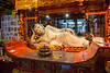Reclining Buddha - Marble donation from Singapore