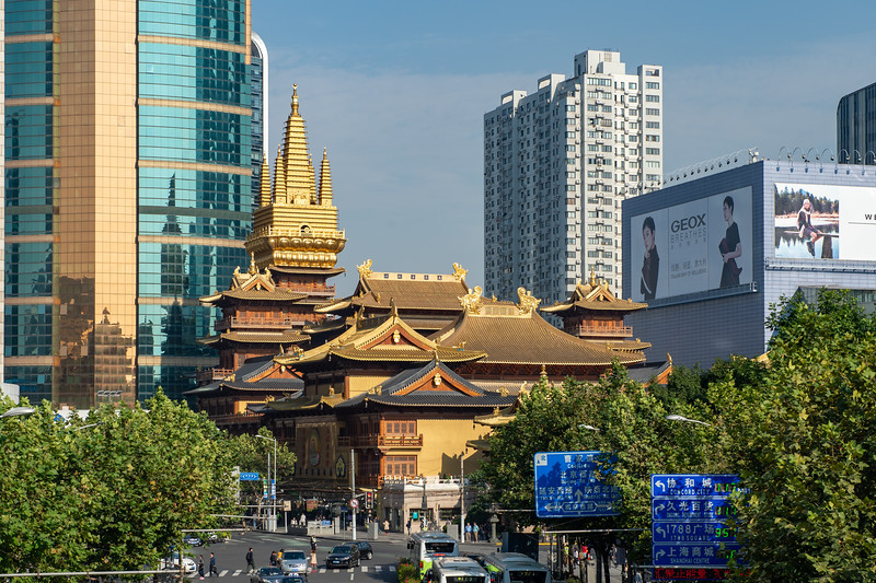 Golden Jing An Temple