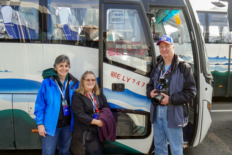 3 ex-Pan Am'ers by bus  number 747
