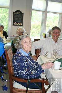 WP 100th birthday Barbara and son 070314 AB