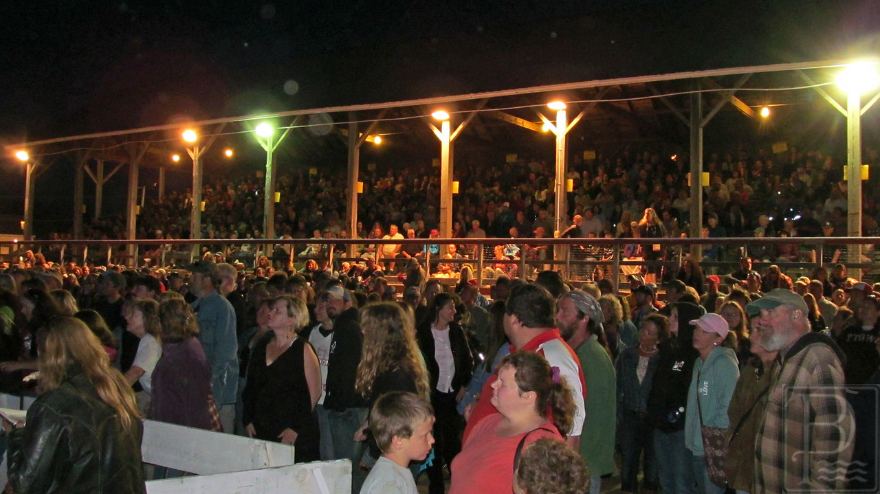 WP BHF McMurtry Grandstand Crowd 090414 FD