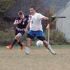 IA DIS Boys v BC Soccer EthanTrapstheBall 101614 JS
