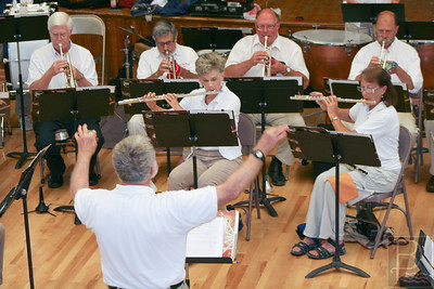 CP Castine July 4 town band flutes french horns 071014 AB