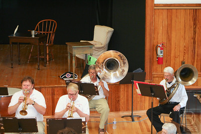 CP Castine July 4 town band four horns 071014 AB