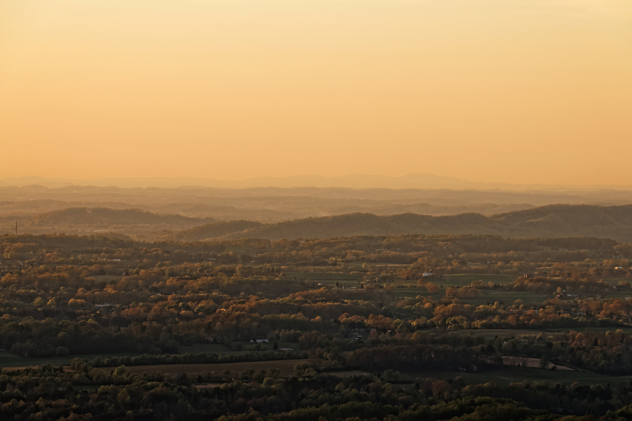 Foothills Parkway Sunset