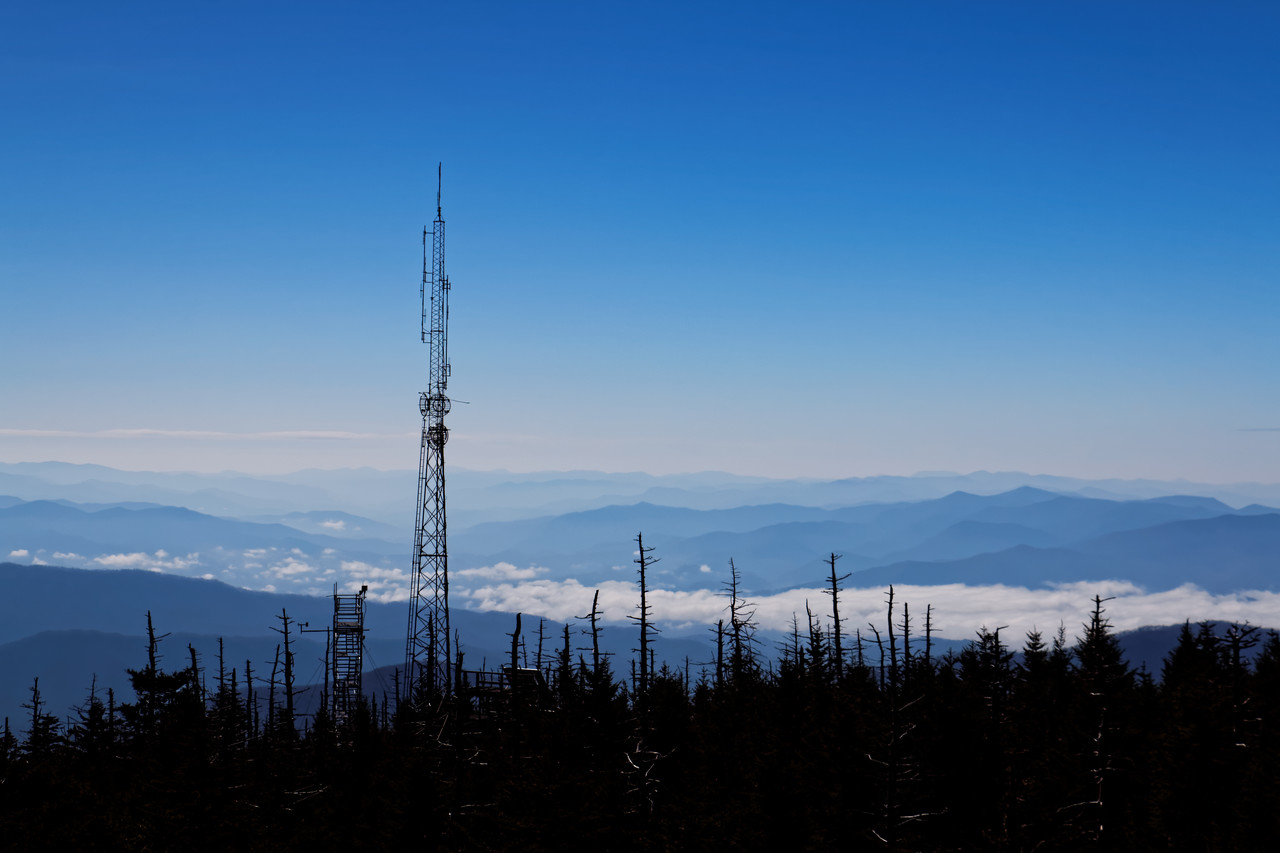 Clingmans Dome Fire Tower