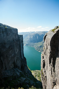 View from Kjeragbolten.