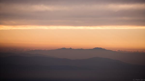 View from Asahidake, Hokkaido.