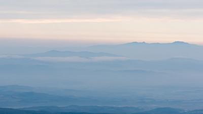 View from Hokkaido's highest mountain, Asahidake.