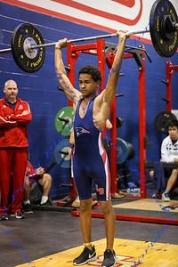 LBHS Weightlifting Boys vs. Lake Mary - Feb 18, 2015