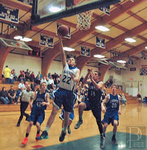 Sports DIS boys v Searsport Dec. 20 noah lays it up 010115 JS