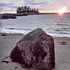 IA First Sunset Ston sand beach 010815 JS
