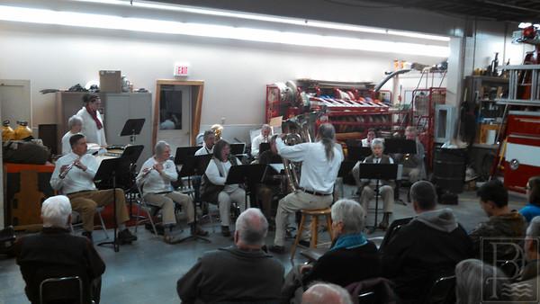 WP Last Night Bklin Town Band 2 010815 JS