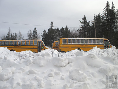 IA Deer Isle Snow Buses at DISHS 1 012915 JS