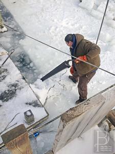 IA Ice Removal Moose Island 021915