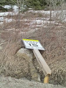 CP-Penobscot-Winter-Damage-School-Speed-Sign-040915-TS