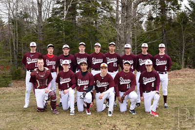 Photo by, Franklin Brown www.franklinbrown.net Boys Baseball, George Stevens Academy Team Photo April 20, 2015