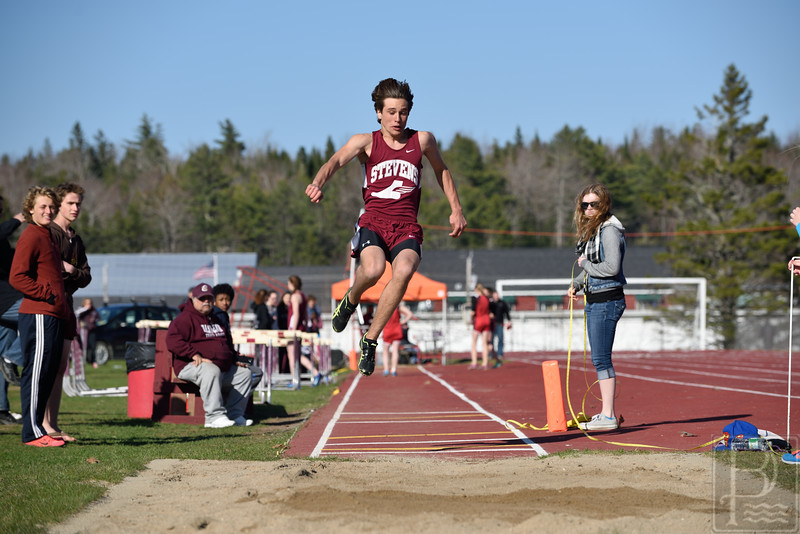 "Photo by, Franklin Brown<br />  <a href=""http://www.franklinbrown.net"">http://www.franklinbrown.net</a><br /> George Stevens Academy<br /> Track Meet at Ellsworth<br /> May 1, 2015"